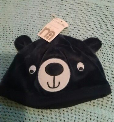 bear hat  6 12 months very soft supper cute New with tags