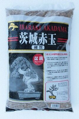 Akadama hard quality Ibaraky 14 Lt, (Medio/Grosso 8-12 mm) Substrato per bonsai