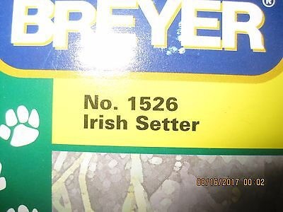Breyer Companion Animals Irish Setter No. 1526 NIB