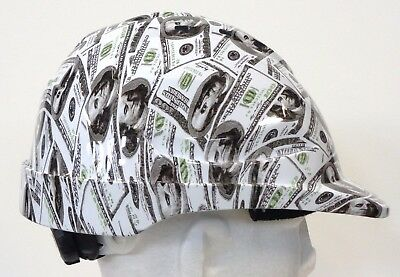 Custom Hydrographic Safety Hard Hats US DOLLAR CAP STYLE