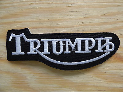 A003 ECUSSON PATCH THERMOCOLLANT TRIUMPH moto motard mods speed triple trident