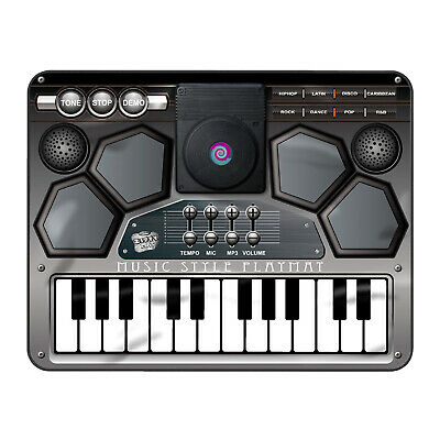 Kids Electronic Music Dj Style Playmat Musical Style Touch Tune Sound Play Mat