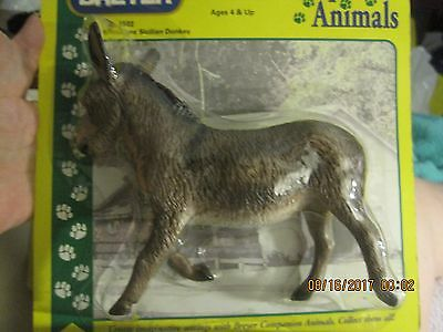 breyer companion animals No. 1522 Miniature Sicilian Donkey NIB