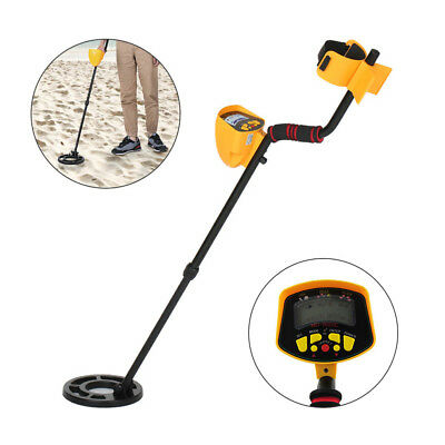Professional Metal Detector Gold Finder LCD Screen Waterproof search coil New