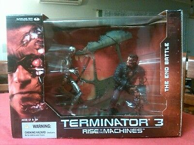 TERMINATOR 3: RISE OF THE MACHINES THE END GAME action figure collection rare