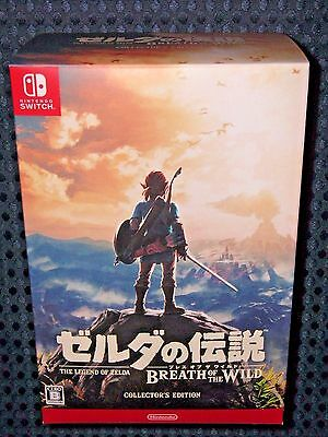Nintendo Switch Legend Zelda Breath of Wild Limited COLLECTOR'S EDITION JAPAN FS