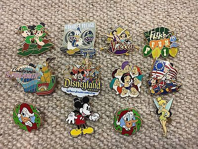 Vintage Disneyland Pins Collection OFFICIAL