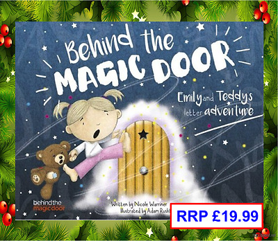 Personalised Christmas Gift for girls and boys, Personalised Childs Story Book