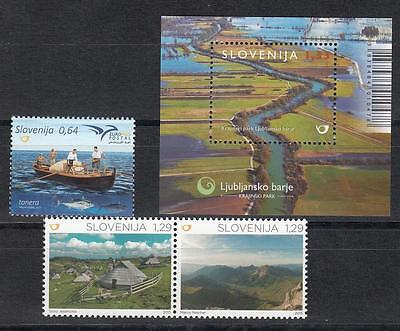 Slovenia Slovenien 2015  MNH** 2015 - 17,18,19 Lot Nature