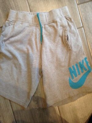 Boys Grey Nike Shorts, Age 10-12 Years, Great Condition