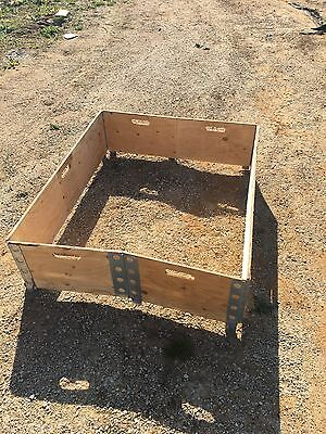Wooden Pallet Stacking Folding Collars - Tote Bins/Garden Containers