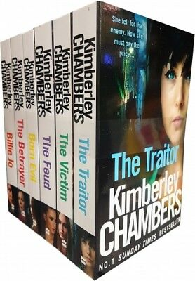 Kimberley Chambers Collection 6 Books Set Traitor, Victim, Betrayer, Born Evil