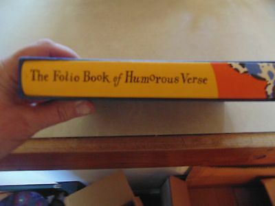 The Folio Book of Humerorous Verse, new