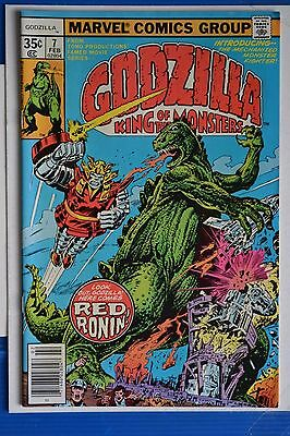 Godzilla # 7 : Near Mint- : Feb 1978 : Marvel Comics: {Comic Books}.