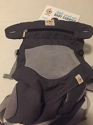 ERGOBABY 360 CARRIER COOL AIR - Four Positions Carbon Grey