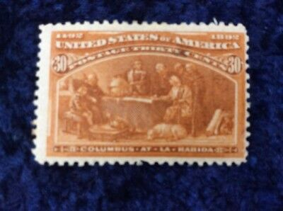 United States of America 1893 Columbian Exposition 30 Cent Orange Mounted Mint