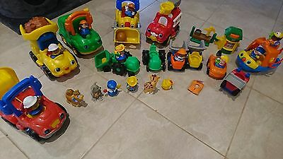 fisher price little people - 30+ pieces