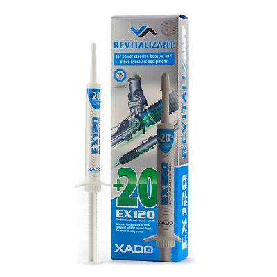 XADO EX120 Gel Revitalizant for Hydraulic power steering booster