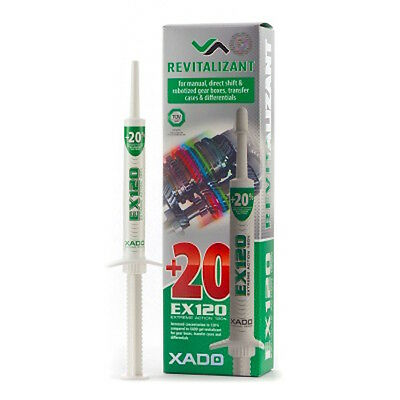 XADO gel Revitalizant EX120 for gearboxes Reinforced