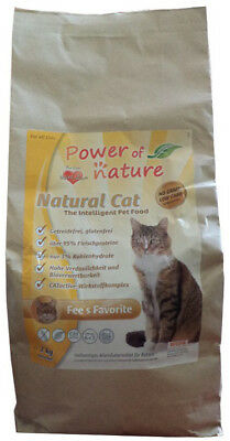 15kg Power of Nature Natural Cat Fee's Favorite Katzenfutter