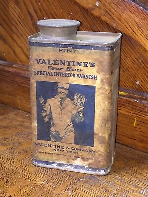 Valentine's Four Hour Special Interior Varnish 1- Pint Can Unopened