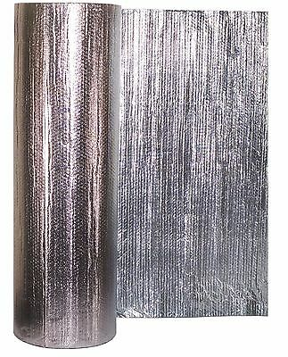 Sola-Cell 1.2m Wide Reflective Heavy Duty Double Foil Bubble Thermal Insulation