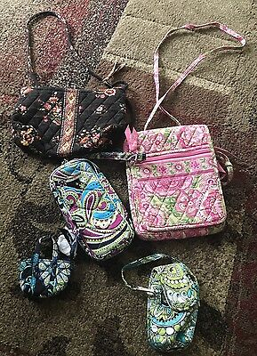 Vera Bradley!! Lot Of 5 Purses/small Change Purses And Wallet