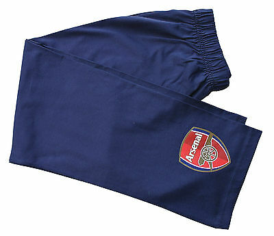 Men's Official Arsenal Football Club Lounge Pants Large and Extra Large Navy