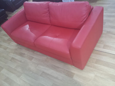 Real Luxury Leather Sofa Quality Bed Just Like You See In DFS Sofas