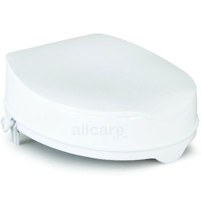 Savanah 6 inch Raised Toilet Seat with Lid without Lid