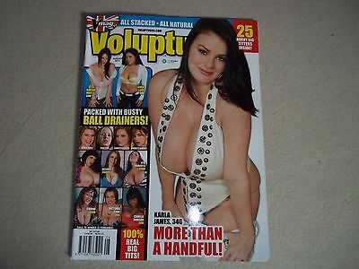 Vintage Mens glamour magazine SCORE group Voluptuous 08 / 12