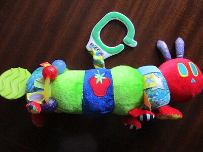 THE VERY HUNGRY CATERPILLAR book character soft pram activity toy ERIC CARLE