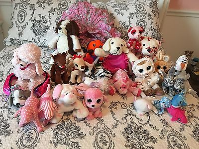 Plush Toy Collection 34 Items