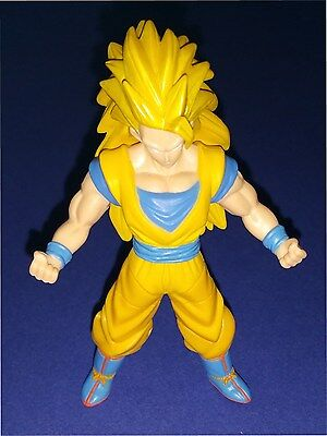 "Dragonball Z Bandai Ultimate Collection Super Saiyan 3 Goku 3.75"" scale figure"