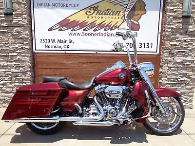 Harley Davidson Road King  2013 Harley Davidson Road King CVO Screamin' Eagle FLHRSES Touring financing