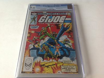 G.i. Joe A Real American Hero 1 Cgc 9.6 White Pages Hasbro Toy Line