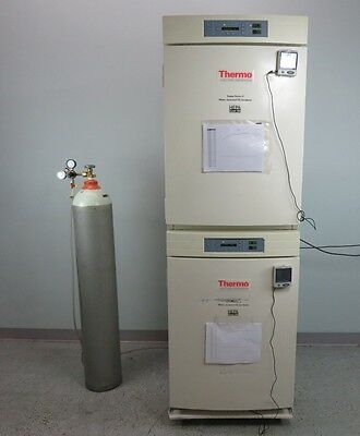 Thermo Forma Series II 3110 Water Jacketed Incubator Dual Stack with Warranty