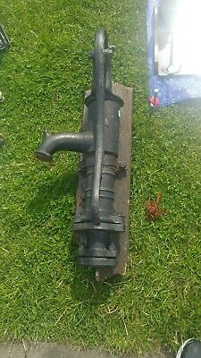 Vintage Hand Water Pump  French