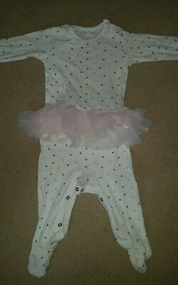 Baby girls  sleep suit age 6-9 months from next excellent condition.