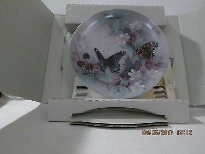 Bradford Exchange Collectible Plate W L George Xerces Red Spotted Purples 1988