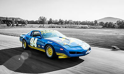 1990 Pontiac Trans Am 1LE Race Package 1LE SUNOCO SCCA American Sedan Winning Race Car, 1 of 4 Built by Pontiac in 1990