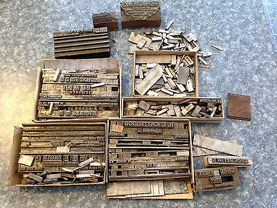 Vintage Lot Lead Metal Letters/Jewelers Engraving / Printing
