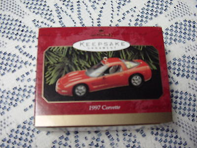 1997 Hallmark Corvette Ornament - Check It Out