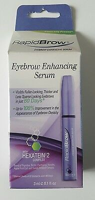 RapidBrow Eyebrow Enhancing Serum 3ml new