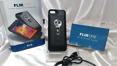 Flir One Thermal Imaging Camera For iPhone 5/5s Space Gray - Excellent Bundle