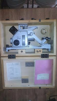 USSR sextant - Optical Finder Marine PGK-2 (ПГК-2) with manual
