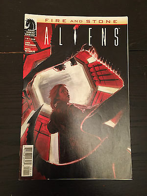 Aliens Fire & Stone Comic - Issue #01 - Dark Horse Comics