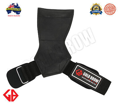 GOLDBROW Versa Grips Pro | Grips Gloves Wraps Lifting Straps | Power Grips