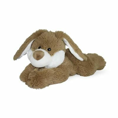 Warmies® Cozy Plush Brown Bunny Laying Down