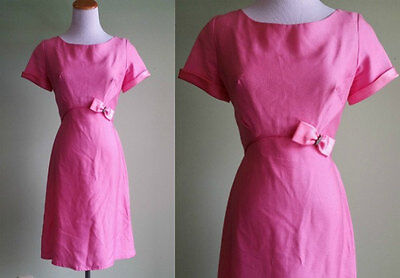 1960s Emma Domb Party Dress Small